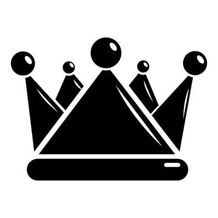 Kievan rus crown icon. Simple illustration of kievan rus crown vector icon for web Çizim
