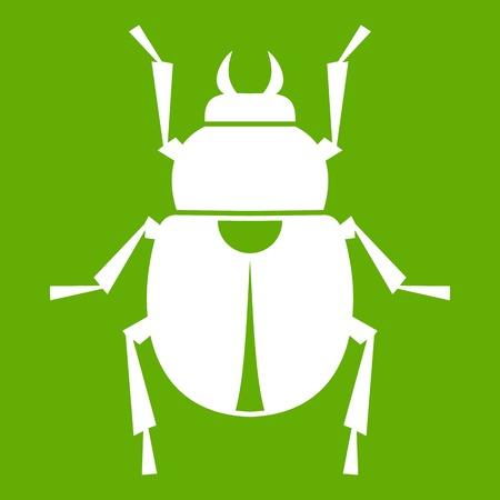 Scarab icon green