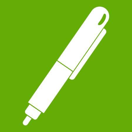 Markeerstift pictogram groen.