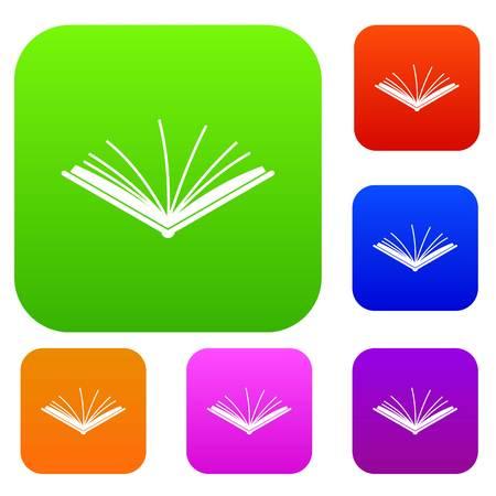 Open tutorial set collection. Illustration