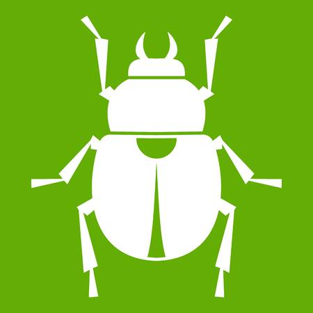 Scarab icon green