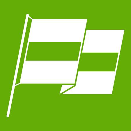 Egyptian flag icon green