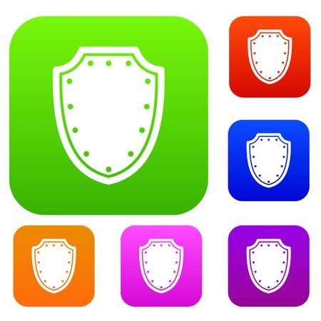 combatant: Army protective shield set collection Illustration