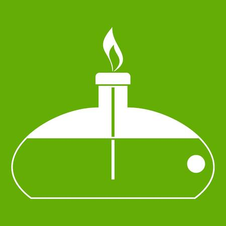 Spiritlamp icon green