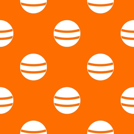 Black with white stripes pattern repeat seamless in orange color for any design. Vector geometric illustration