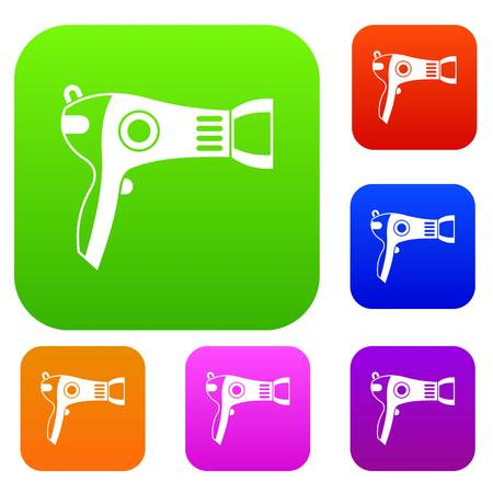 hairdryer: Hairdryer set collection