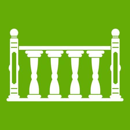 Balustrade icon green