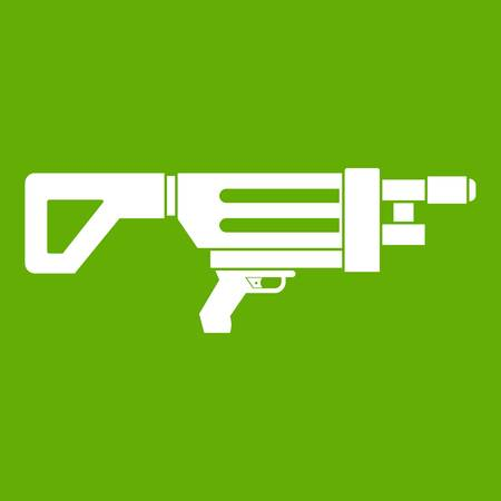 Game gun icon green