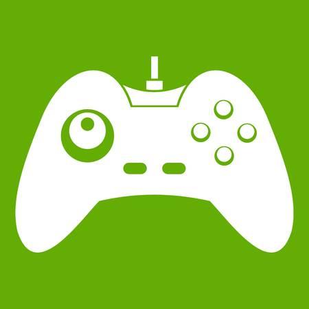 One joystick icon green