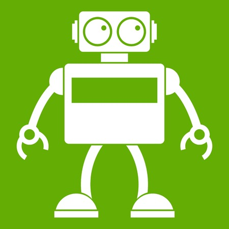Android robot icon green