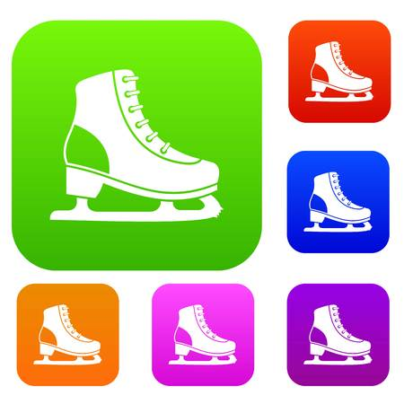 Ice skate set collection