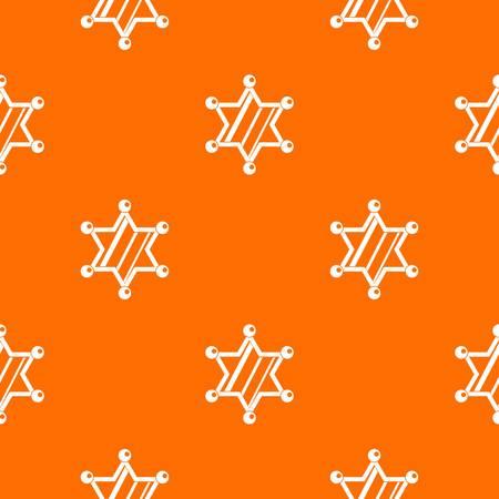 ranger: Sheriff star pattern seamless