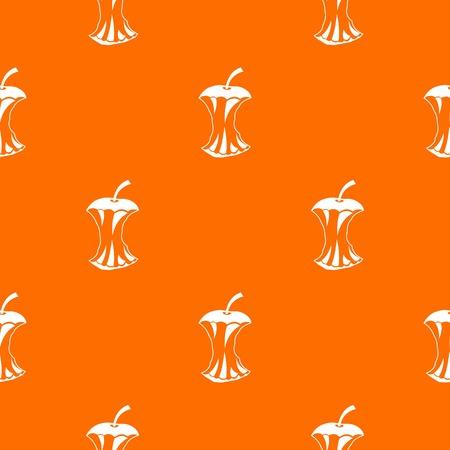 Apple core pattern seamless Illustration