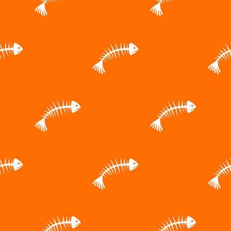 Fish bones pattern seamless