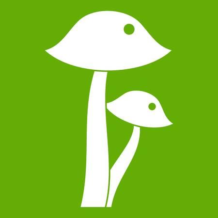 Honey fungus icon green