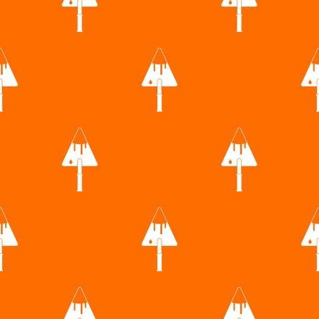 masonry: Construction trowel pattern seamless