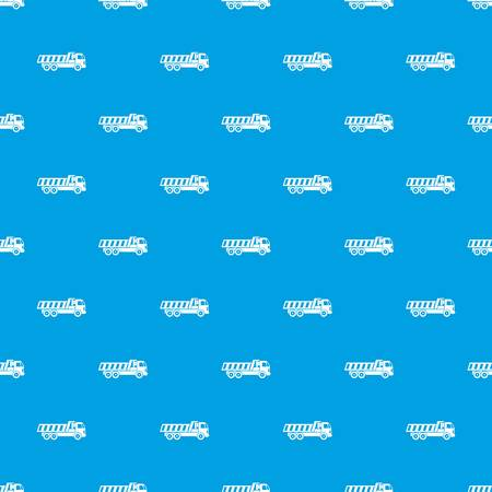 heavy metal: Machinery pattern repeat seamless in blue color for any design. Vector geometric illustration Illustration