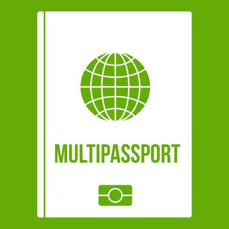 Multipassport icon green