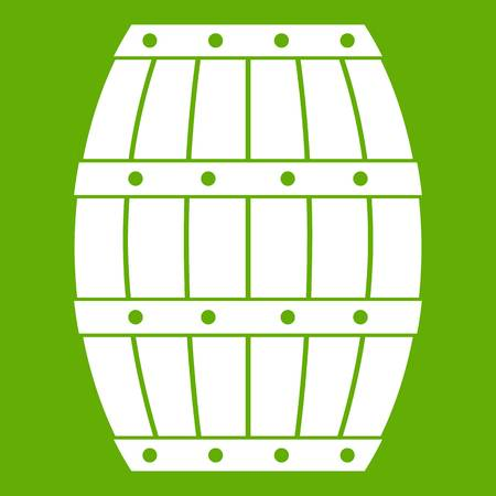 Barrel icon green