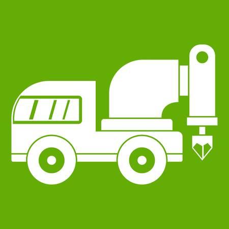 Drilling machine icon Illustration