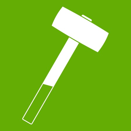 Sledgehammer icon green