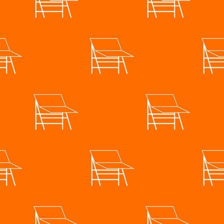 Blank portable screen pattern seamless