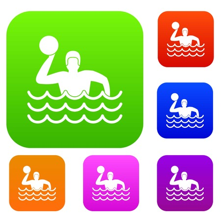 Water polo set collection