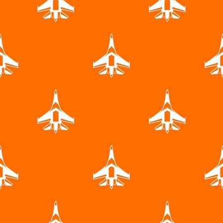 Jet fighter plane pattern seamless Illustration