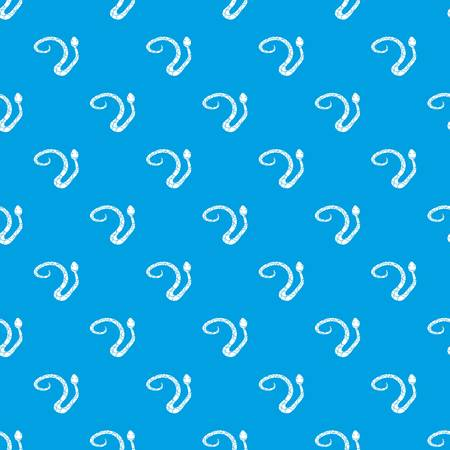 Spotted snake pattern seamless blue Illustration