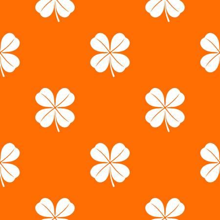 Clover leaf pattern seamless Illustration