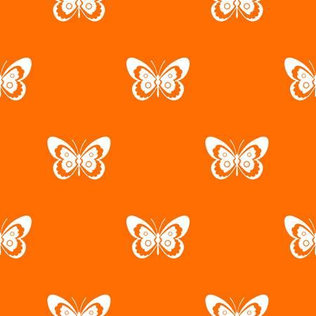 Butterfly pattern seamless vector illustration.
