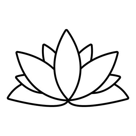 Lotus flower icon outline illustration of lotus flower vector lotus flower icon outline illustration of lotus flower vector icon for web design isolated on mightylinksfo