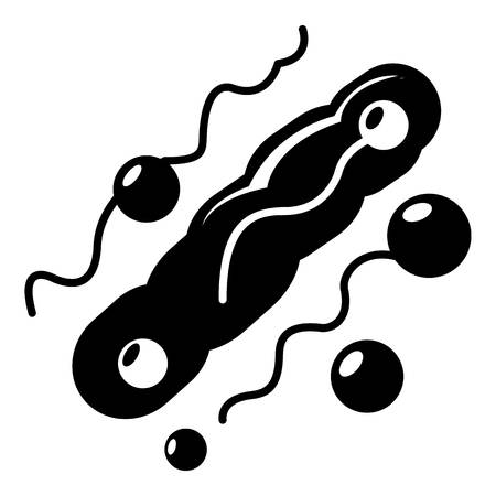 Corynebacterium icon . Simple illustration of corynebacterium vector icon for web design isolated on white background