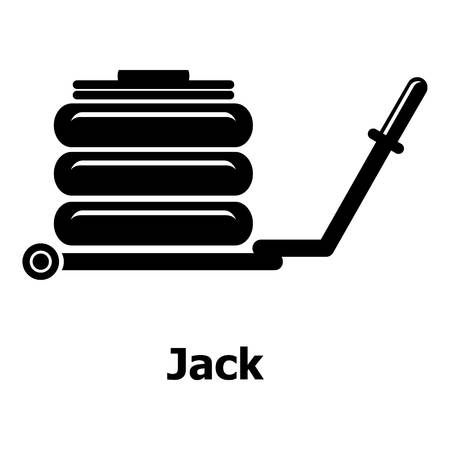 Jack icon. Simple illustration of jack vector icon for web