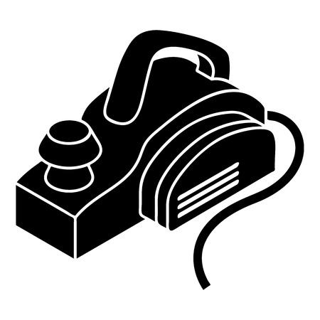 Hand elektrisch gereedschap pictogram, eenvoudige stijl Stock Illustratie