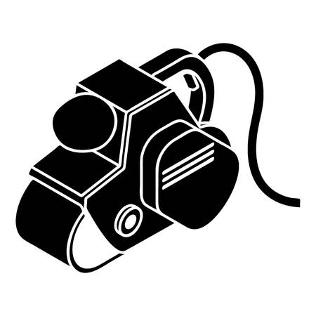 Power tool icon. Simple illustration of power tool vector icon for web design isolated on white background Ilustracja