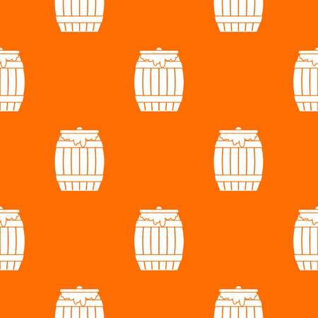 mead: Honey keg pattern seamless