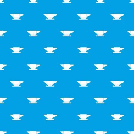 Anvil pattern seamless blue