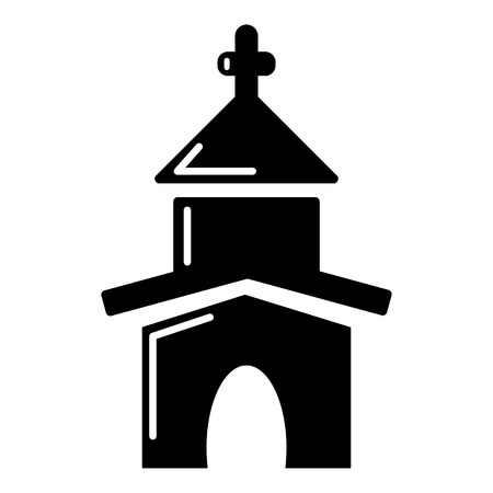 Church icon , simple style