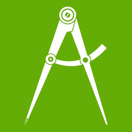 Compass tool icon green