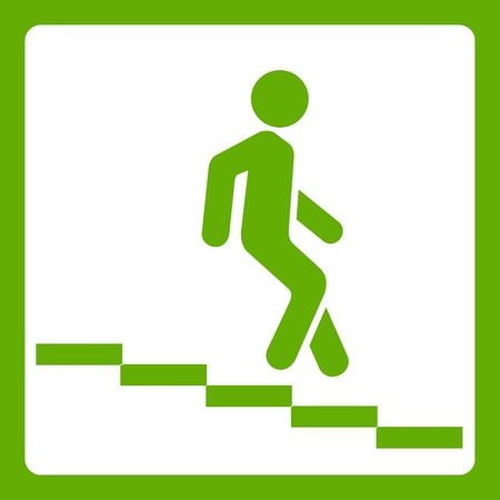Underpass road sign icon green