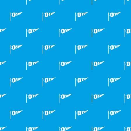 Windsock pattern seamless blue