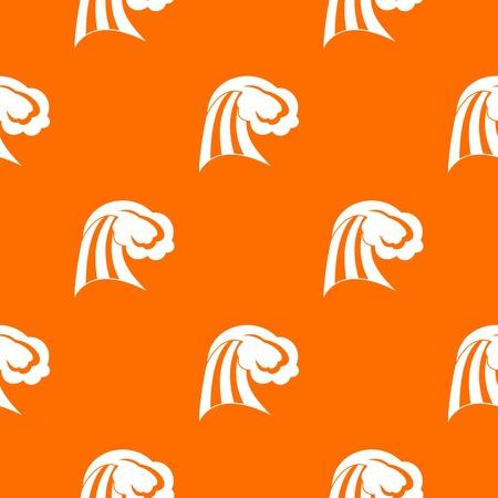 Big wave pattern seamless Illustration