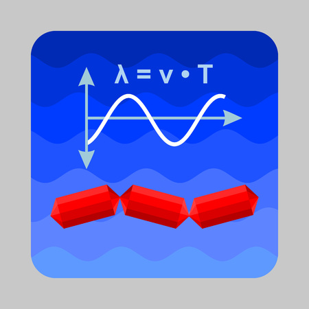Sea wave energy concept background. Cartoon illustration of sea wave energy vector concept background for web design