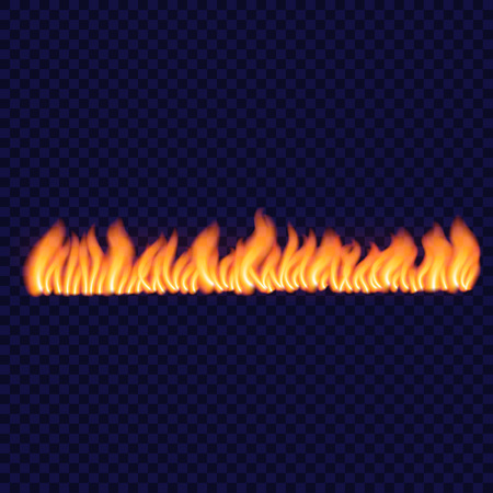 Long spark fire concept background, realistic style Illustration