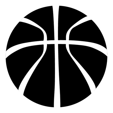 Basketball icon. Simple illustration of basketball vector icon for web