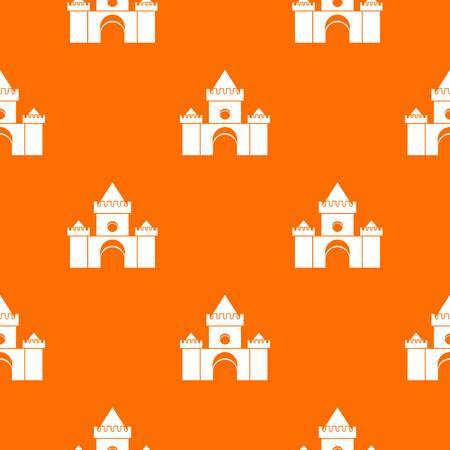 bounce: Fairytale castle pattern seamless