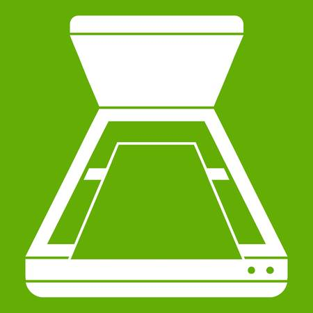 Open scanner icon green