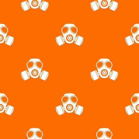 Chemical gas mask pattern seamless