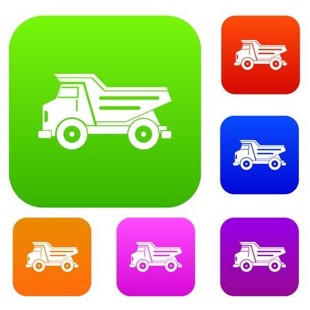 ダンプ トラック設定カラー コレクション